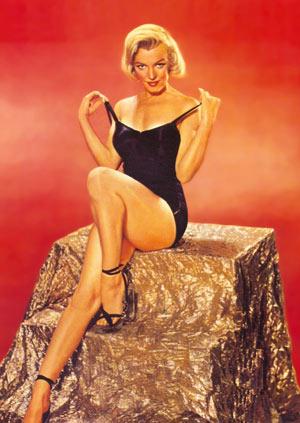 Marilyn Monroe, un arquetipo de belleza curvilínea. (Foto: Colección Terenci Moix)