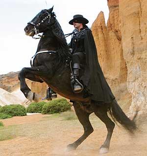 Fotograma de la telenovela 'El Zorro'.