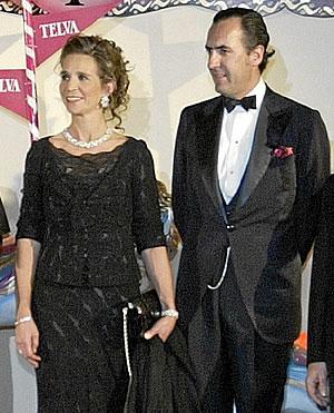 Los Duques de Lugo, en una de sus últimas apariciones juntos en público. (Foto: Kike Para)