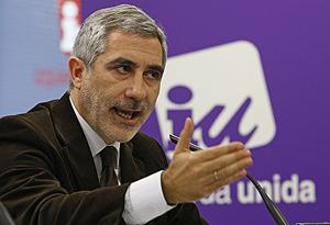 Gaspar LLamazares. (Foto: EFE)