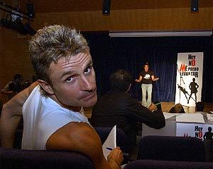 Nacho Cano, durante un casting de su espectáculo. (Foto: J. Villanueva)