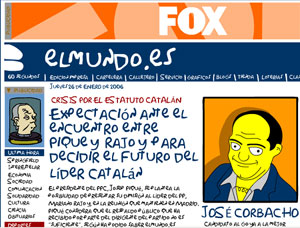 Vea la portada de Fox en elmundo.es.