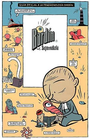 'Bardín el Superrealista', el personaje estrella del dibujante Max.
