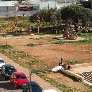 Vista panóramica del jardín de Ciutadella tomada por el vecino Pablo Domínguez Sánchez.
