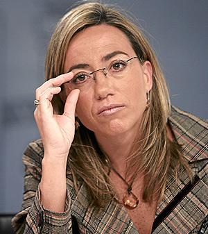 Carme Chacón. (Foto: Javier Martínez)