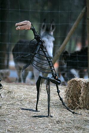 'Gallardón', la escultura que ha adquirido la baronesa Thyssen. (Foto: Madero Cubero)