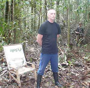 El contratista estadounidense Thomas Howes, otro de los secuestrados por las FARC.