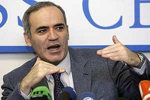 Garry Kasparov, en una imagen de archivo (Foto: AP Photo)