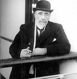 Joseph Conrad. (Foto: Colección Lange)