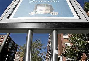 Un 'chirimbolo' instalado en la Plaza de Cataluña de Madrid. (Foto: Jaime Villanueva)