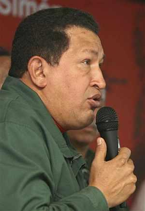 Chávez, durante su comparecencia ante los medios, este miércoles. (Foto: EFE)