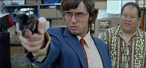 El actor Jonas Ball, en un fotograma de la película 'El asesinato de John Lennon'. (Foto: EFE)