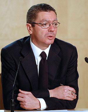 Alberto Ruiz-Gallardón, durante un acto reciente. (Efe)
