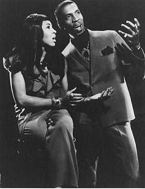 Ike y Tina Turner. (Foto: AP)