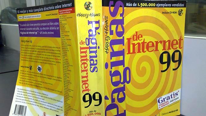 Unas páginas amarillas de Internet de 1999. (Foto: elmundo.es)