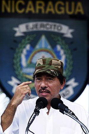 Ortega, durante un discurso el pasado día 11 en Managua. (Foto: REUTERS)