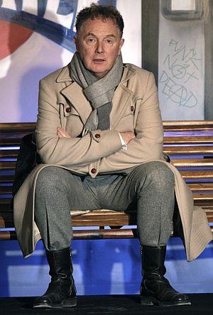 Malcolm McLaren, en Madrid. (Foto: EFE)