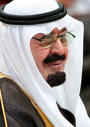 El rey saudí, Abdala bin Abdelaziz. (Foto: EFE)