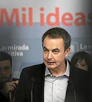 José Luis Rodríguez Zapatero. (Foto: Javi Martínez)