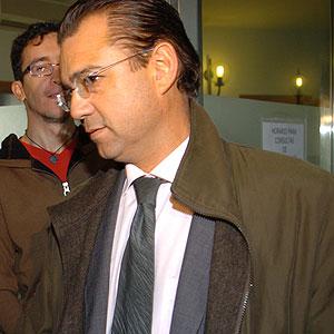 Miquel Ángel Flaquer entrando en los juzgados (Foto: Pep Vicens).