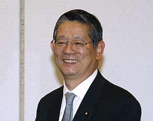 Nobutaka Machimura en una foto del pasado noviembre (REUTERS)