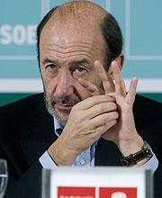 Alfredo Pérez Rubalcaba. (Foto: EFE)