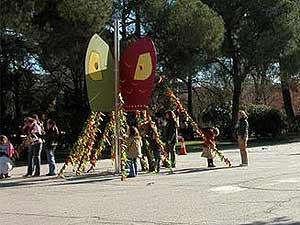 El árbol que se instaló en 2005. (Foto: arboldelosdeseos.blogspot.com)