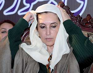 Benazir Bhutto. (Foto: EFE)