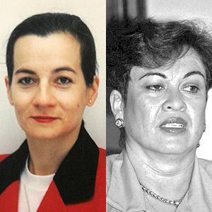 Clara Rojas (izqda.) y Consuelo González. de Perdomo (dcha.). (Foto: REUTERS | AFP)