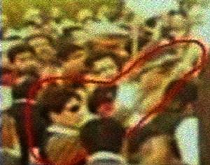 Primeras imágenes del presunto asesino con vida. (Foto: Dawn TV | REUTERS)