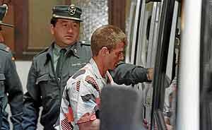 Miguel Ricart, conocido como 'el rubio', fue condenado a 170 años de cárcel por el triple crimen.