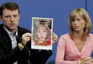 Los padres de Madeleine buscan financiación para pagar a sus detectives privados. (Foto: EFE)