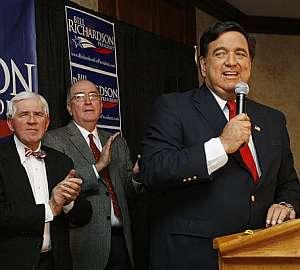 Richardson, durante un acto en New Hampshire. (Foto: AP)