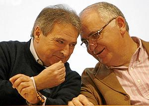 Rus y Cotino, durante las Jornadas del PP. (Foto: José Cuéllar)