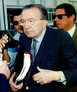 El democristiano Andreotti venció finalmente al PCI en las elecciones de 1976. (Foto: EPA)