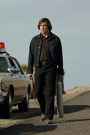 Javier Bardem, en 'No country for old men' , de los hermanos Coen. (Foto: EL MUNDO)