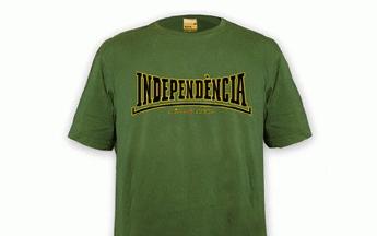 Una de las camisetas de la tienda 'online' de ERC.
