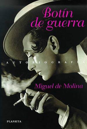 Portada de un libro sobre Miguel de Molina publicado en 1998.