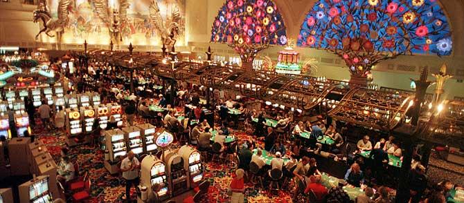 Casino del Hotel Aladino de las Vegas. (Foto: Las Vegas News Bureau / AP)