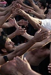 Peregrinos en Kerbala (Foto: REUTERS)