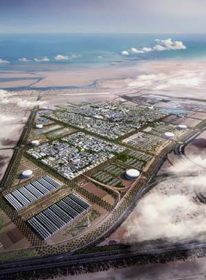 Recreación del proyecto de ciudad sostenible de Foster (Foto: EL MUNDO)
