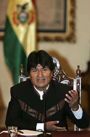 Evo Morales. (Foto: EFE)