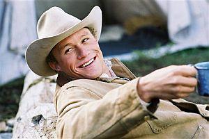 Heath Ledger, en 'Brokeback Mountain'. (Foto:AP)