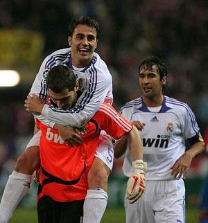 Imagen del último derbi, Madrid-Atlético. (Foto: AFP)