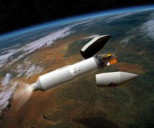 Representacion artistica de despliegue de satelite de la ESA . (Foto: ESA)