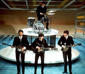 Los Beatles, en una actuación en 1964. (Foto: AP)