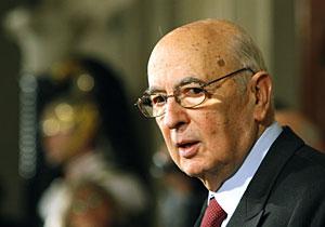 El presidente de Italia, Giorgio Napolitano. (Foto: Reuters)