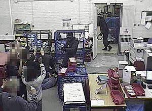 Fotografía de archivo de las cámaras de seguridad distribuida por la Policía de Kent. (EFE)