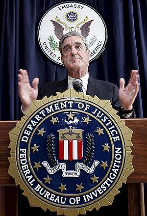 El director de la oficina de inteligencia, Robert S. Mueller. (Foto: EFE)