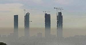 Imagen de las Cuatro Torres tomada hace varias semanas. (B. Cordón)
